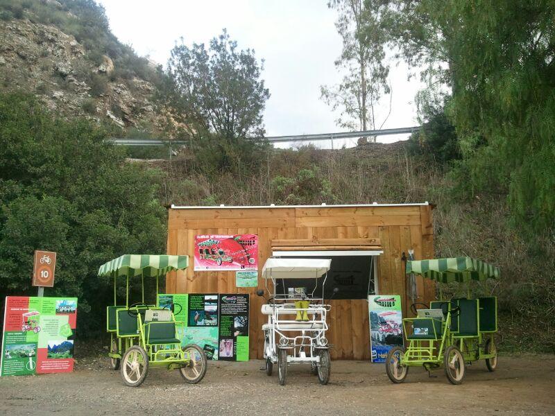 Cuatricicletas Via Verde de la Sierra